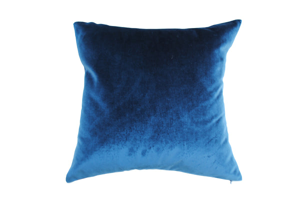 Hector Blue Silk Cushion