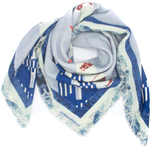 Phare Wool Scarf