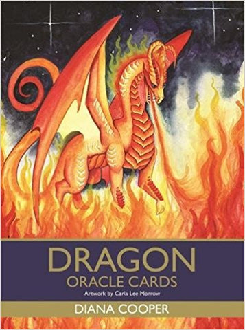 Dragon Oracle Cards Cards by Diana Cooper (Author), Carla Lee Morrow (Illustrator)