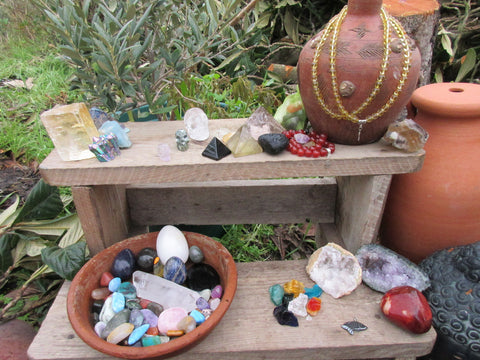 create sacred space outside