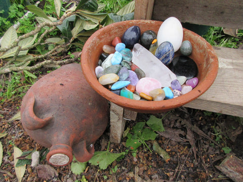 create sacred space outdoor