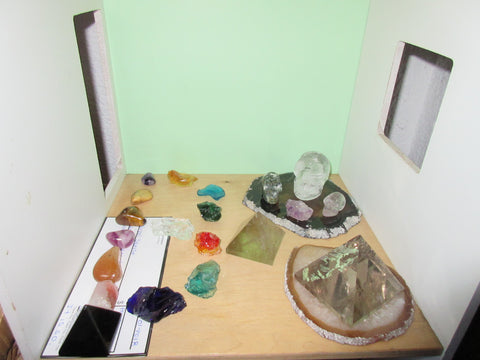 create sacred space, altar, indoors