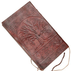 Large Tree_Of_Life Embossed Handmade Genuine Leather Journal Diary