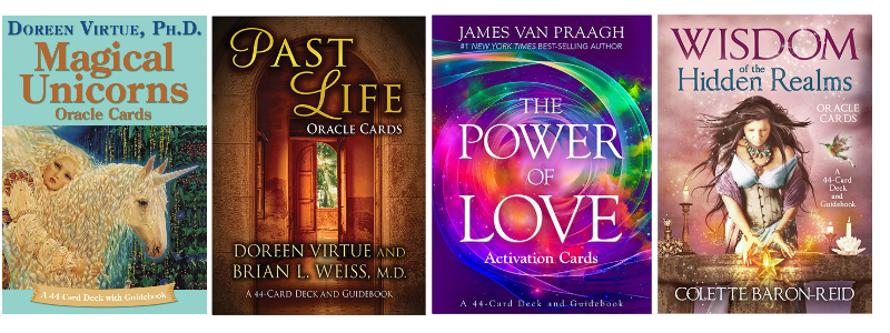 Oracle Cards_Hay House_Doreen Virtue - Brian L. Weiss - James Van Praagh - Collete Baron-Reid