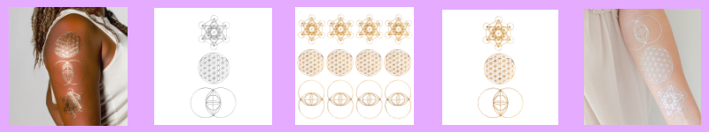 Sacred Geometry Collection Bundle Gold by Danielle LaPorte