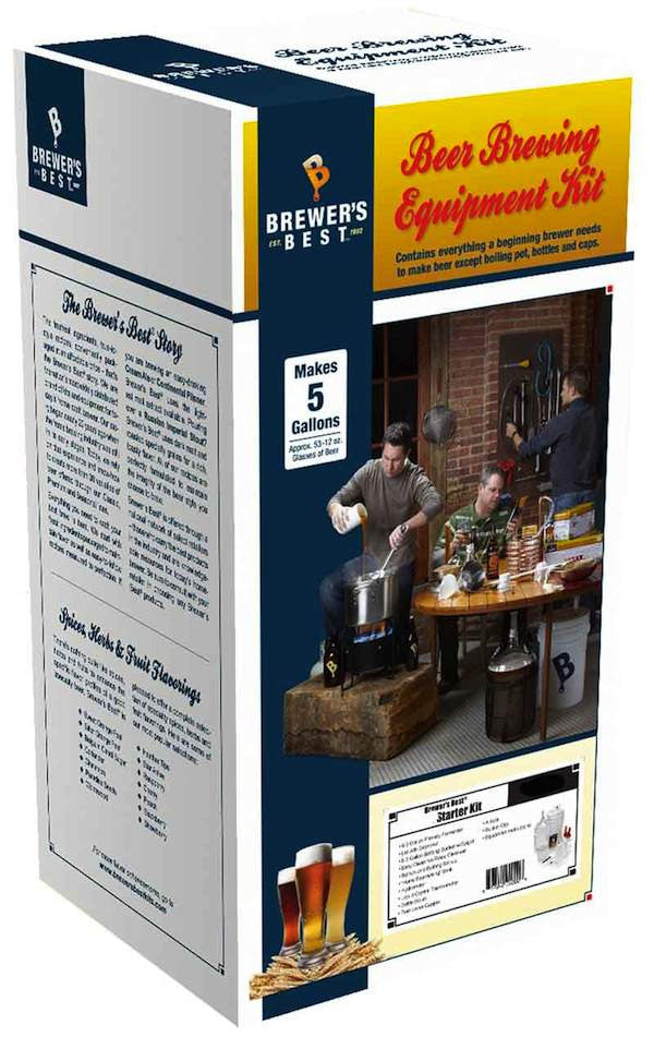 Deluxe Beer Brewing Equipment Kit with Glass Carboy