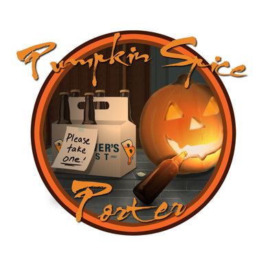 Pumpkin Spice Porter Beer Recipe Kit - Makes 5 Gallons