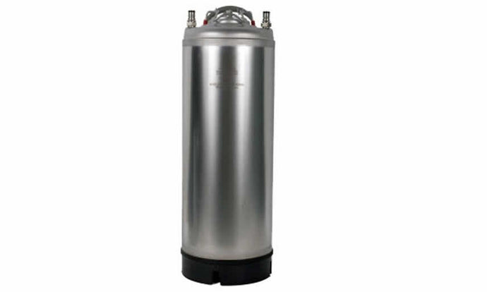 5 Gallon New Stainless Steel Ball Lock Keg