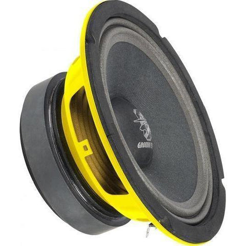 "Ground Zero  6.5"" GZCK 165XSPL (yellow basket) (Single)"