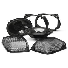 Power Harley-Davidson® Rear Audio Kit (2014+)-Speaker Lids 14 up-Rockford Fosgate-Bagger Audio