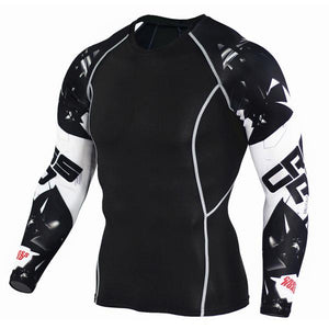 CROSS ROAD LONG SLEEVE RASH GUARD