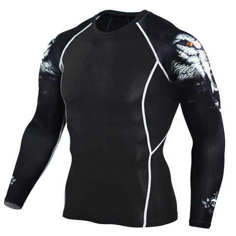 ALPHA WOLF LONG SLEEVE RASH GUARD