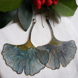 Ginkgo XL earrings