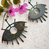Water Tribe Eye of Protection earrings