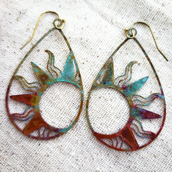 Sun of the Sea earrings