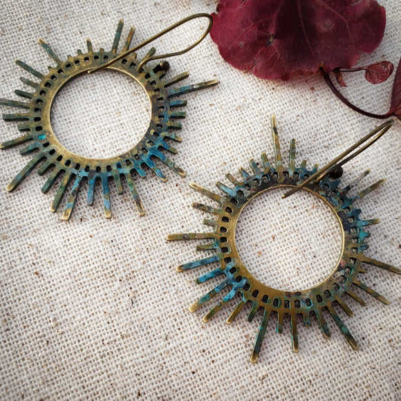 Sun Spokes earrings