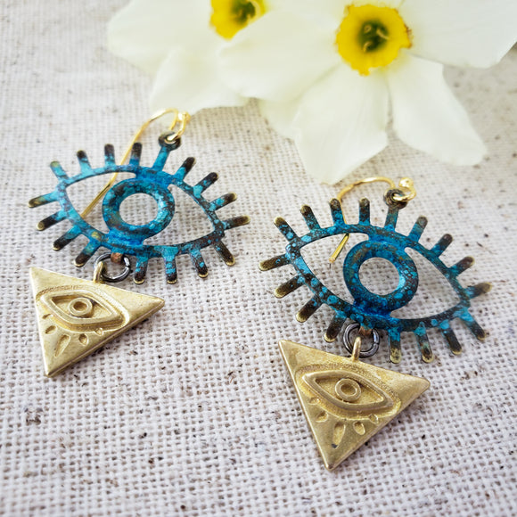 Eye of Power earrings