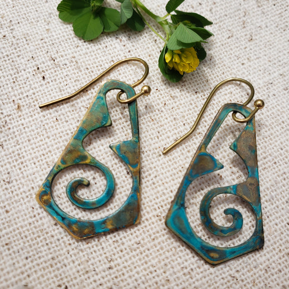 Spiral of Change earrings