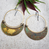 Spring into Summer Crescent hoops
