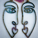 Lady Gemini earrings