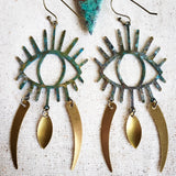Dagger Eye earrings
