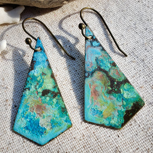 Diamonds of the Sea earrings