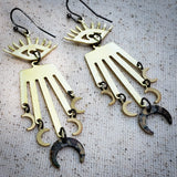 Eye of Destiny earrings