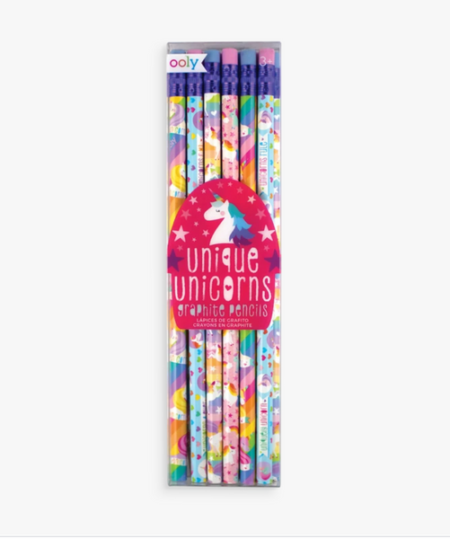 Unicorn Pencils 12/pk