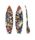 Flava boardbag cover with tail pad and secret zippered stat pocket mottai surf surfing