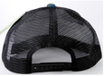 Garcia Mesh Trucker 5 Panel Snapback Hats - Black Mesh -Mottai surf hats and bags