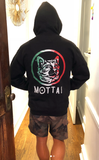 MOTTAI Surf Maurice Unisex Zip Hoodie Mexico colors