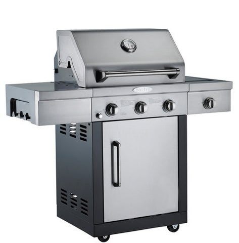 Bon Fire 3 Burner Gas Grill-Outdoor Cooking-Outdoor Living Experience
