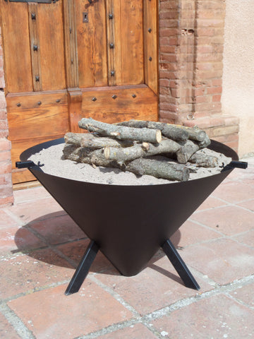 "Bon Fire "" Cone"" Brazier-Outdoor Cooking-Outdoor Living Experience"