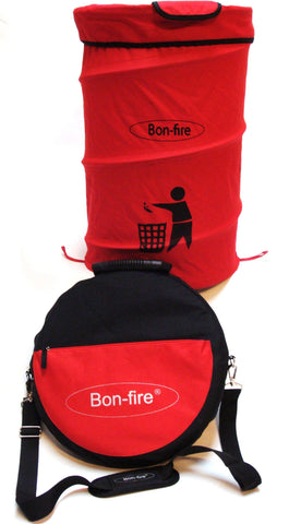 Bon Fire Folding 50 Litre Dustbin-Outdoor Cooking-Outdoor Living Experience