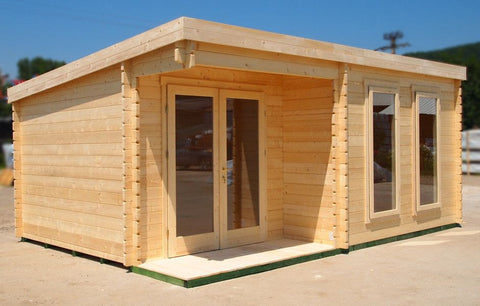 Dorset Log Cabin-Log Cabin-Outdoor Living Experience