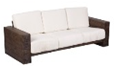 Foremost Block 3 Seater Sofa With Cushions-Garden Furniture-Outdoor Living Experience
