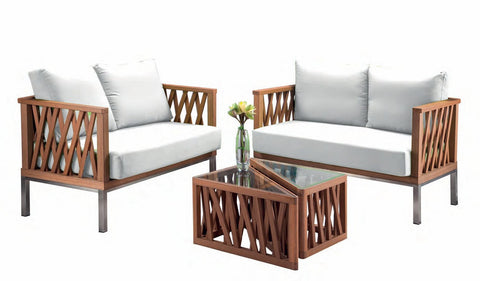 Foremost Marka Patio Set-Garden Furniture-Outdoor Living Experience