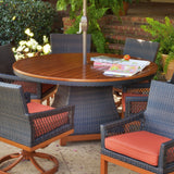 Foremost Metropolitan Dining Set for 6-Garden Furniture-Outdoor Living Experience