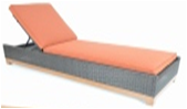 Foremost Metropolitan Lounger-Garden Furniture-Outdoor Living Experience