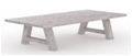 Foremost Natural White Table-Garden Furniture-Outdoor Living Experience