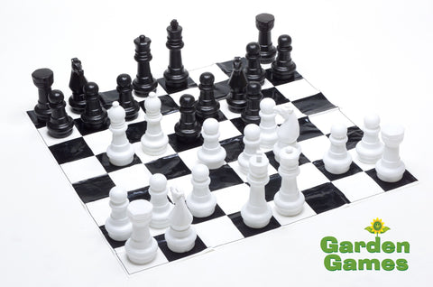 Garden Chess Set-Games-Outdoor Living Experience