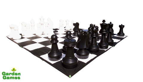 Giant Chess Set-Games-Outdoor Living Experience