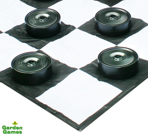 Giant Garden Draughts-Games-Outdoor Living Experience