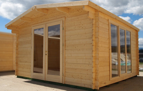Hampshire Log Cabin-Log Cabin-Outdoor Living Experience