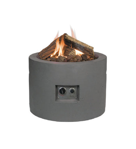 Happy Cocooning Round Fire Pit-Fire Pit-Outdoor Living Experience