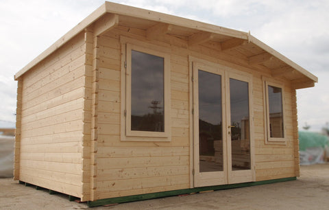 Kent Log Cabin-Log Cabin-Outdoor Living Experience