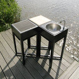 OneQ Outdoor Kitchen Set 1-Outdoor Kitchen-Outdoor Living Experience
