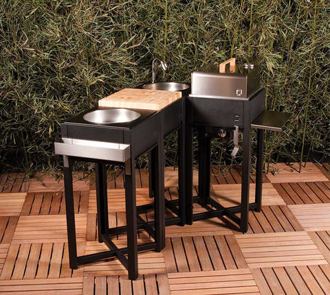 OneQ Outdoor Kitchen Set 2-Outdoor Kitchen-Outdoor Living Experience