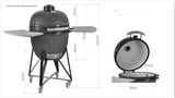 Quinta Kamado Grill Large-Outdoor Cooking-Outdoor Living Experience