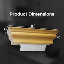 HealthyShelf Paper Towel Dispenser Retro Gold